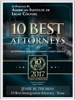 10 Best Immigration Attorneys Texas 2017 Client Satisfaction